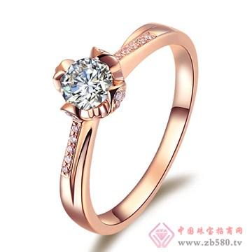 普林尼-钻石戒指【玫瑰花语】