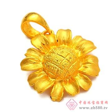 恒产珠宝-黄金吊坠01