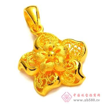 恒产珠宝-黄金吊坠02