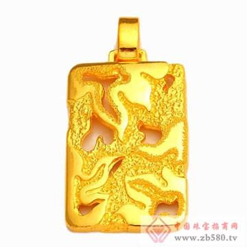 恒产珠宝-黄金吊坠05