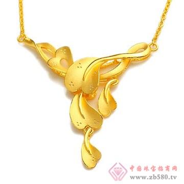 恒产珠宝-黄金项链01