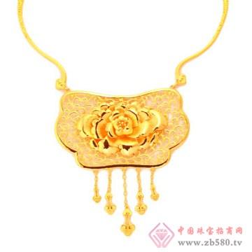 恒产珠宝-黄金项链02