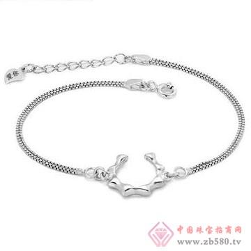 七金珠宝-纯银手链01