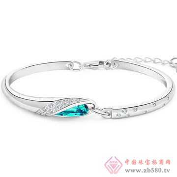 七金珠宝-纯银手链02