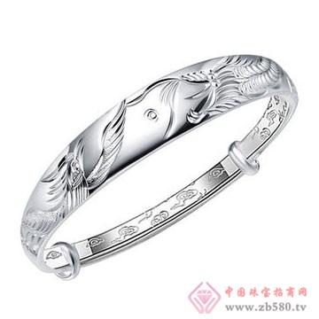 七金珠宝-纯银手镯01