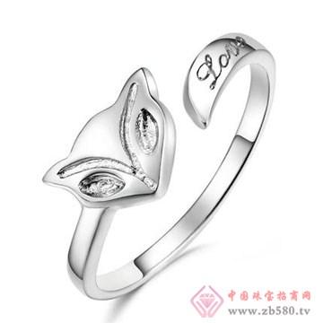 七金珠宝-纯银戒指