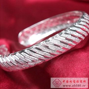 俏银匠-S999纯银时尚手镯04