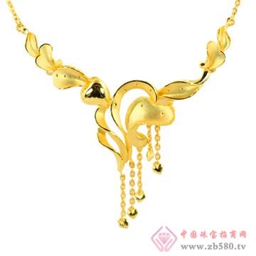 天世源-良缘金饰-金心套装链