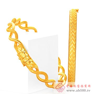 世嘉珠宝-非常完美系列黄金手镯