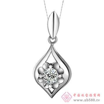 五洲金行-钻石吊坠15