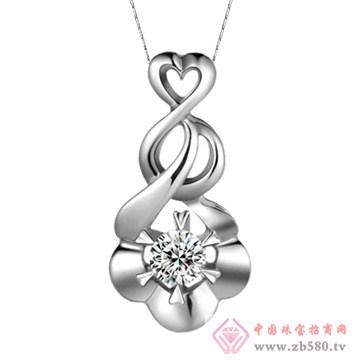 五洲金行-钻石吊坠01