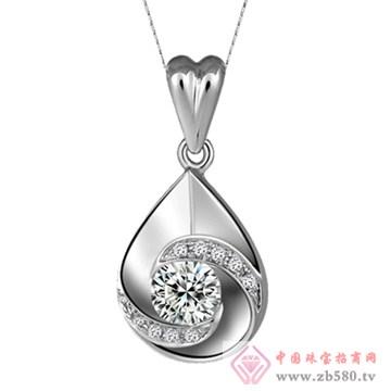 五洲金行-钻石吊坠02