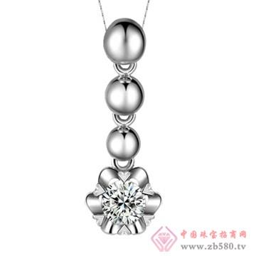 五洲金行-钻石吊坠03