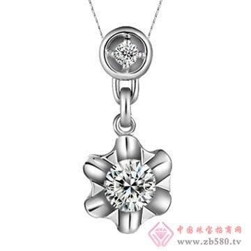 五洲金行-钻石吊坠04