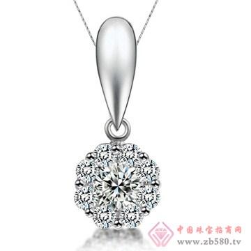 五洲金行-钻石吊坠10