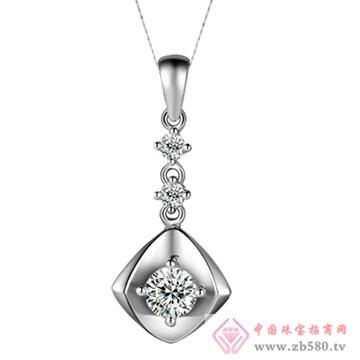 五洲金行-钻石吊坠11