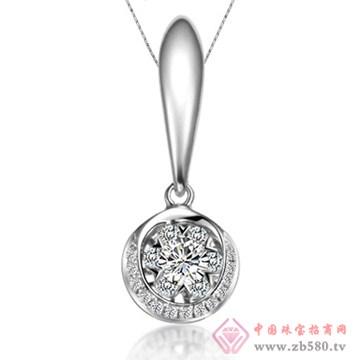 五洲金行-钻石吊坠12
