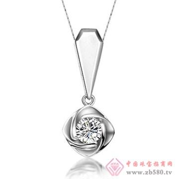 五洲金行-钻石吊坠14