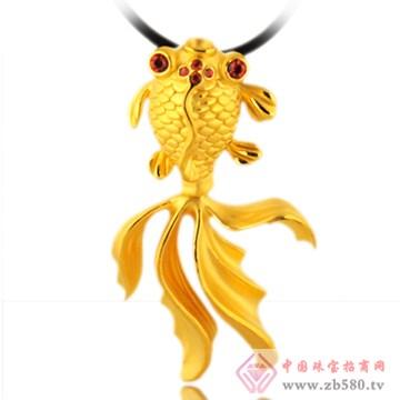 五洲金行-黄金吊坠01