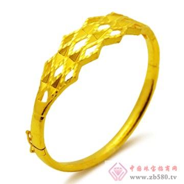 五洲金行-黄金手镯04