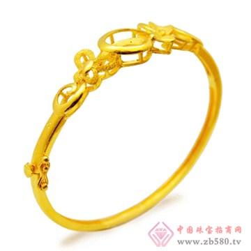 五洲金行-黄金手镯05