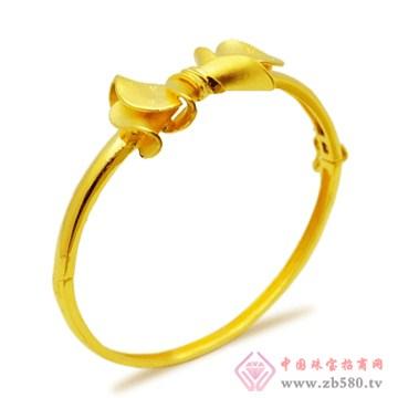 五洲金行-黄金手镯06