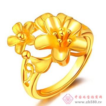 金玛银城-万足金黄金戒指