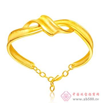 金玛银城-万足金黄金手镯03