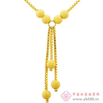金玛银城-万足金黄金项链02