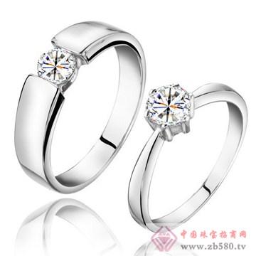 金玛银城-18K金钻石戒指01