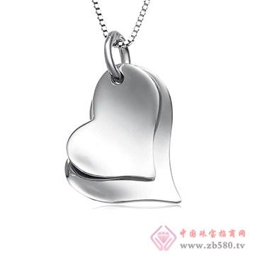 中鑫珠宝-纯银吊坠02