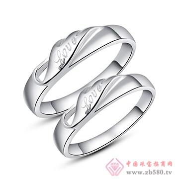 中鑫珠宝-纯银对戒