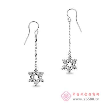 中鑫珠宝-纯银耳坠
