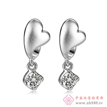 中鑫珠宝-钻石耳坠