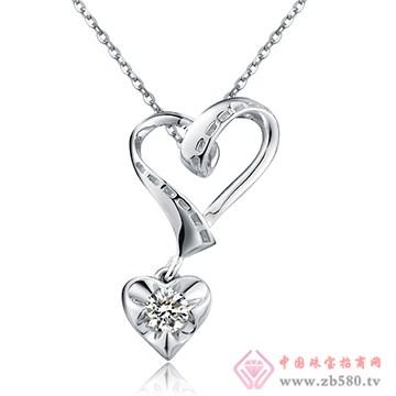 中鑫珠宝-钻石吊坠01