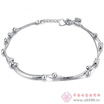 中鑫珠宝-钯金手链