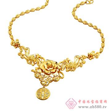 中鑫珠宝-黄金项链