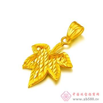 中鑫珠宝-黄金吊坠01