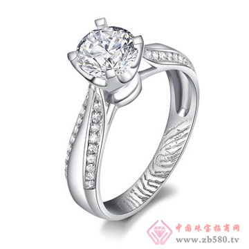爱度钻石-指纹戒指【刻·执手】