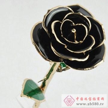 黛雅饰品-镀金玫瑰花09