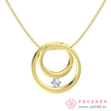 金银猫CSMALL-项链【麦田圈】