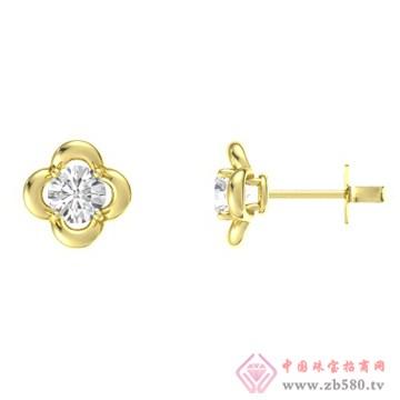金银猫CSMALL-耳饰【花意围绕】