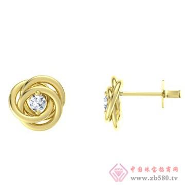 金银猫CSMALL-耳饰【妖娆蔷薇】