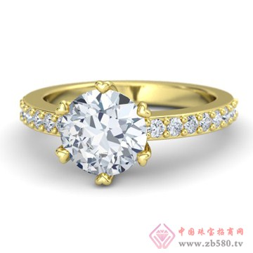 金银猫CSMALL-戒指【相约石】