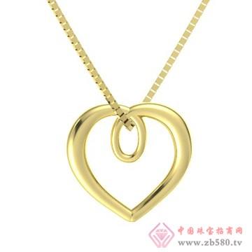 金银猫CSMALL-项链【刺金桃心】