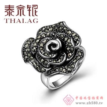 金银猫CSMALL-泰宗银S925泰银玫瑰