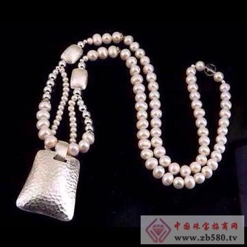 利和利贞-天然珍珠钱袋项链