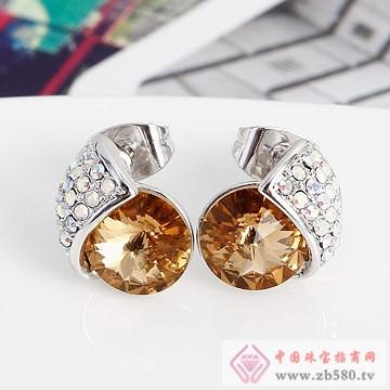 意高-水晶耳饰01