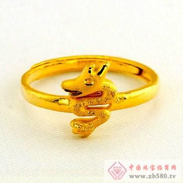 广东黄金-十二生肖黄金戒指【龙】