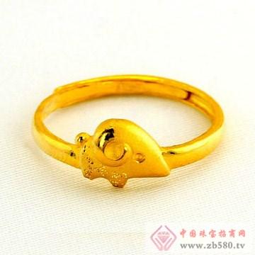 广东黄金-十二生肖黄金戒指【羊】